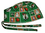 Surgical Scrub Hat Basketball Teams Cotton Fabric Nurse Cap Doctor Chemo Skull