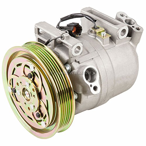AC Compressor & A/C Clutch For Nissan Frontier & Xterra - BuyAutoParts 60-01887NA NEW - Compressor Frontier Nissan A/c