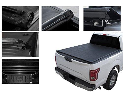 1993-2011 FORD RANGER (STD/EXT CAB), 6' BED VINYL TONNEAU COVER (SOFT HD FLUSH ROLL UP ) (Ext Cab Ford Short Ranger)