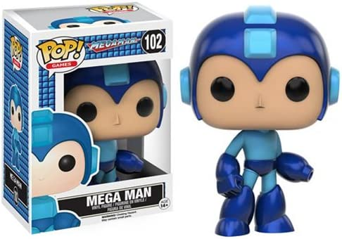 d386157998e Amazon.com   MEGA MAN - VINYL FIGURE - CAPCOM- Video Game - Licensed - NEW  IN COLLECTOR S BOX   Everything Else