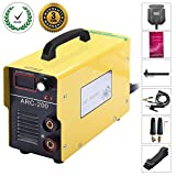 ARC Welder - ARC 200 IGBT Inverter Welder 110v Inverter Welding Machine - 200 AMP Welding Machine Mini Welder Suit 1.2-3.2 MM Welding Rod Equipment with Accessories Tools (110V)