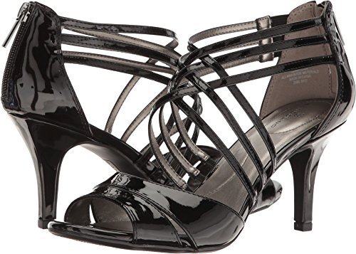Bandolino Women's Marlisa Heeled Sandal, Black, 8 M US Bandolino Womens Dress Sandals