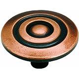 Amerock BP3433AC Allison Value Hardware Knob, Antique Copper, 1-1/2-Inch Diameter