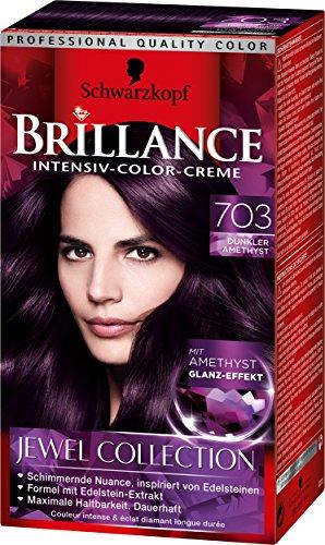 Haarfarben palette lila