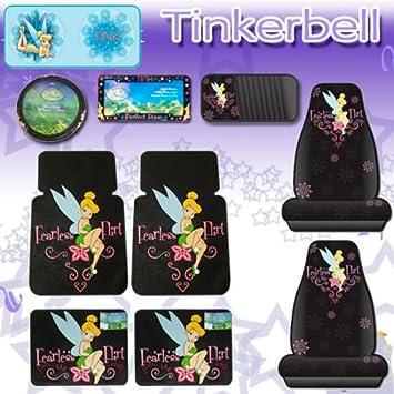 10 pcs Tinkerbell Fearless Flirt Combo Front Rear Car Floor Mats ...