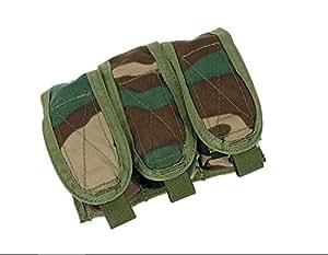 TMC PT estilo tri Granada funda (bosque) para Tactical Airsoft caza juego: Amazon.es: Deportes y aire libre