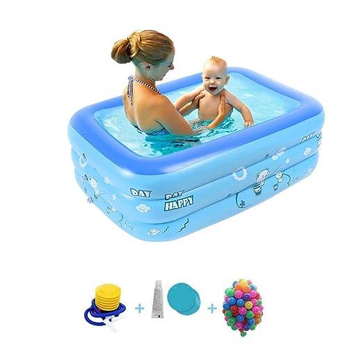 Piscina para niños azul Piscinas portátiles para niños ...