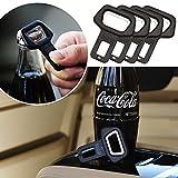 CIKIShield 4pack Car safety belt clip Car Seat belt buckle Vehicle-mounted Bottle Openers