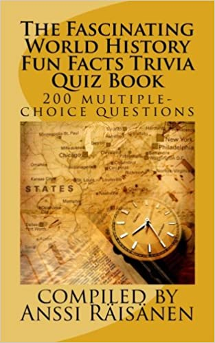 Buy The Fascinating World History Fun Facts Trivia Quiz Book Book