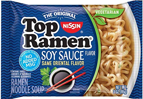 (Nissin Top Ramen Soy Sauce, 3 Ounce (Pack of 12))