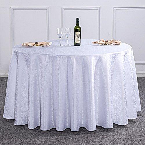 1 320cm TYXQ Le Restaurant de Mariage épongent la Nappe Ronde Florale Propre, nappes lavables de Tissu pour des Tables Rondes, 1, 320cm