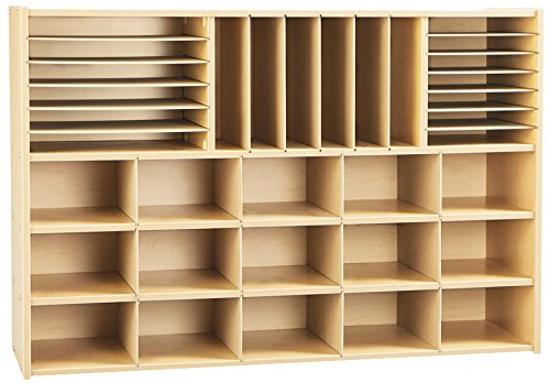 Young Time 7030YR441 Sectional Cubbie Storage Without Trays