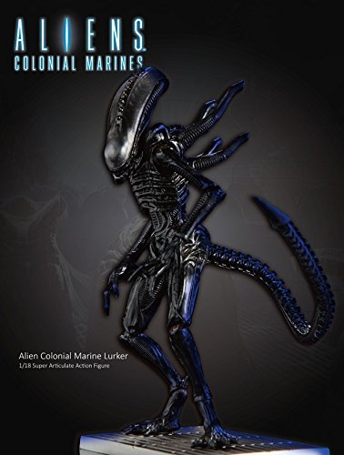 Hiya Toys Aliens: Xenomorph Lurker Action Figure (1:18 Scale)