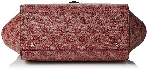 Guess Hwsp6786060, Borsa a Mano Donna, 10.5x18x24 cm (W x H x L) Rosso (Bordeaux)