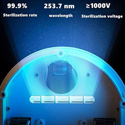 BSWL Robot De Destruction des Bactéries, Robot De Nettoyage des Acariens, pour Une Maison Pratique Et Pratique, Stérilisateurs UV pour Les Ménages, Robot Tueur D\'acariens