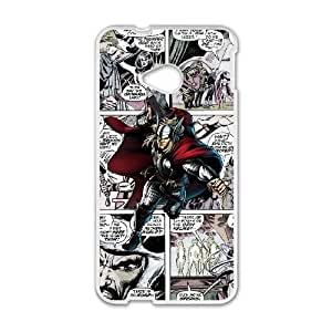 HTC One M7 phone cases White Marvel comic Phone cover KLW4134579