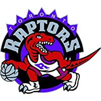 "Toronto Raptors NBA Basketball Car Bumper Sticker Decal 5"" x 4"""