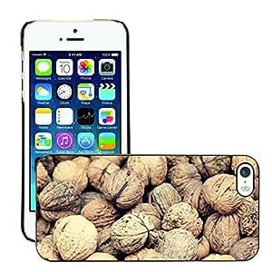 Print Motif Coque de protection Case Cover // M00246019 Las nueces de nogal Alimento de la // Apple iPhone 5 5S 5G