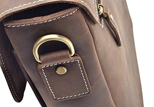 """Hølssen Briefcase Messenger 13"""" Laptop Genuine Leather Bag by Hølssen (Image #6)"""