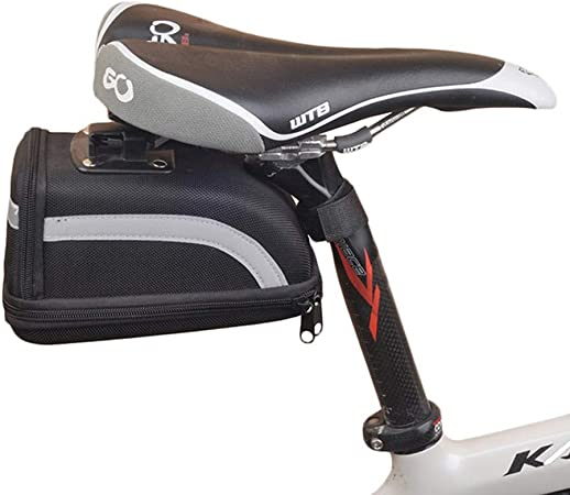 Bolsas para sillines Sillín de bicicleta impermeable / Bolsa de asiento / Bolsa de bicicleta para carretera y