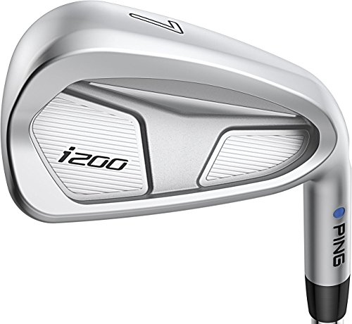 PING i200 Blue Dot Irons – (Steel) (Left Hand Stiff Flex 4-PW)