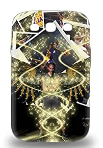 Premium Galaxy NBA Los Angeles Lakers Kobe Bryant #24 Case For Galaxy S3 Eco Friendly Packaging