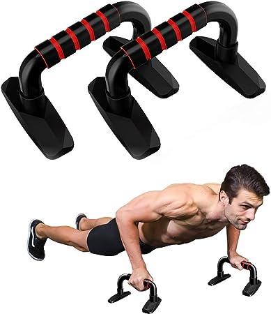 Wuudi - Soporte para flexiones, con antideslizante para fitness, gimnasia, entrenamiento de pecho, accesorios para el hogar y el gimnasio