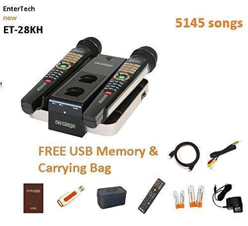 2017 ET28KH 5145 TAGALOG ENGLISH SONGS MAGIC SING karaoke 2 WIRELESS MIC HDMI USB