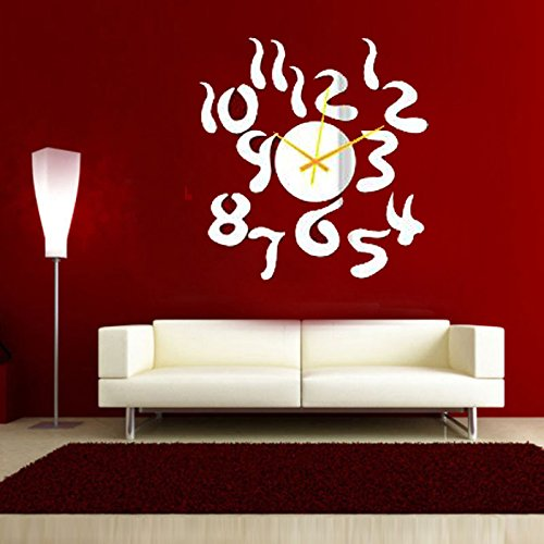 Wall Sticker, DIY Removable Wall Sticker Decal PVC Wall Decal Self Adhesive DIY Reusable Erasable for Kids Home Office