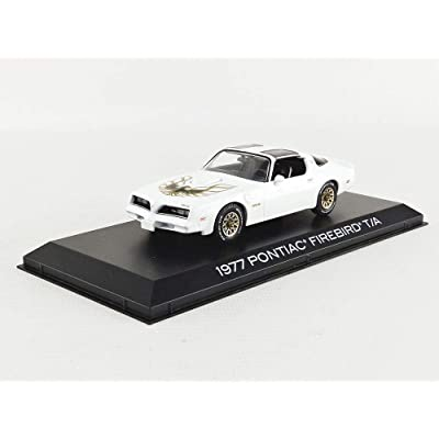 Greenlight 86331 1:43 1977 Pontiac Firebird Trans Am - Cameo, White: Toys & Games