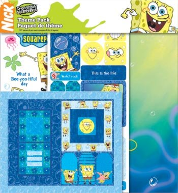 (Sandylion 12X12 SCRAPBOOK THEME PACK SPONGE BOB)