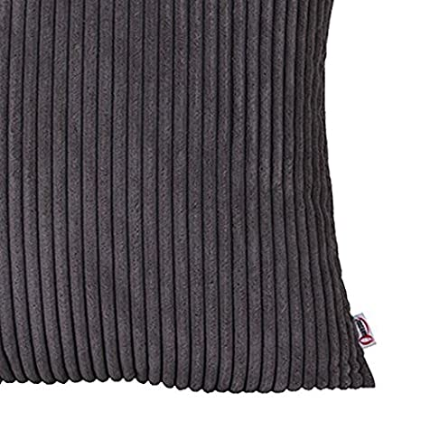 IHRKleid® - Fundas de cojín decorativas para sofá - Color liso, algodón, amarillo, 40*40 cm