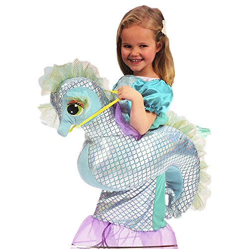 Kids Dress-Up Seahorse & Mermaid Riding Costume (Seahorse Costume)