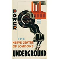 London Underground - Power Underground 1931 - LU071 Satin Paper A4 Size