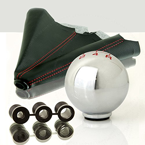 LT Sport SN#100000000757-0763-219 For Mazda Zinc Alloy Manual Stick Shift Knob boot Combo