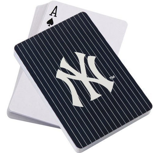 MLB New York Yankees Playing Cards (New York Yankee Gifts)