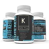 Keto Boost Plus - Ketosis, Clarity, Focus, Memory, Energy - Nootropic and Ketosis Pills - BHB, MCT, B6, Vinpocetine, Alpha GPC, Bacopa, Huperzine A, L-Theanine, L-Tyrosine, GABA, Caffeine, Niacin