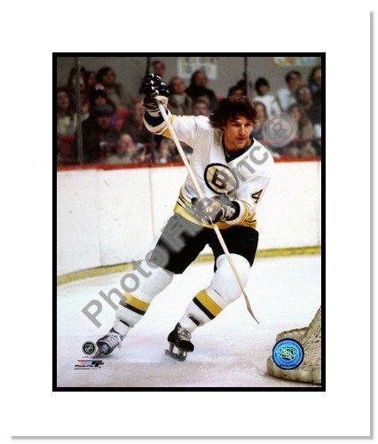 Bobby Orr Boston Bruins Signed Blade 8x10-inch Stick Frame 19200709