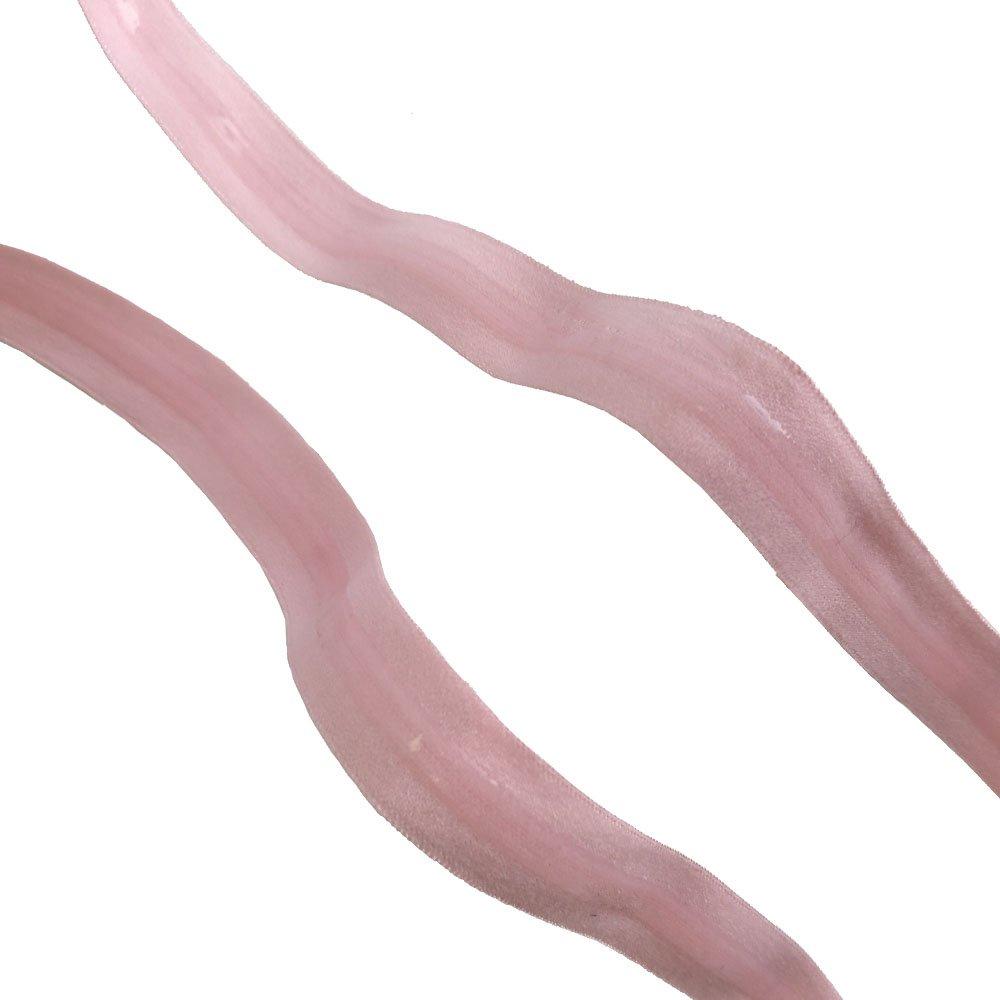 Alta calidad 5//8/Inch Silicona con goma el/ástica 5Yards//rollo Lt.Pink