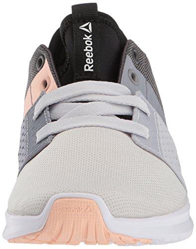 Reebok Vrouwen Trilux Lopen Sneaker Porselein / Wit / Koele Schaduw / Ash Grijs / Zwart / Woestijnstof