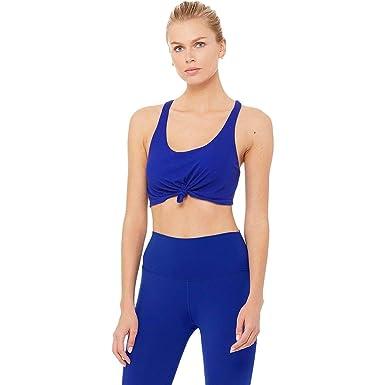 0c395ff74da3b Alo Yoga Knot Tank Bra - Women s at Amazon Women s Clothing store