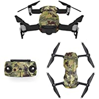 Waterproof Stickers Decal for Drone DJI Mavic Air Kit - Includes Drone Skin, Remote Controller Skin and Battery Skins (MC04)