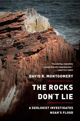 Cover of The Rocks Don't Lie: A Geologist Investigates Noah's Flood