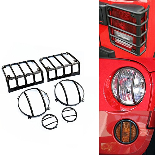 jeep headlight covers - 2