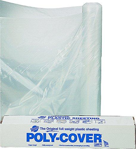 - Husky Plastic Sheeting Clear 6ml 40ft x 100ft