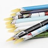 nail gem pencil - EFT 10x Wax Nail Dotting Pen Nail Art Rhinestones Picking Pen Gems Pick up Pencil