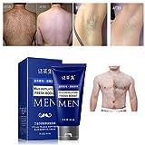 Depilatory Cream Wax - Hair Remove Cream,Enjocho 60ml Men's Permanent Body Hair Removal Cream Hand Leg Hair Loss Depilatory Cream (Blue)
