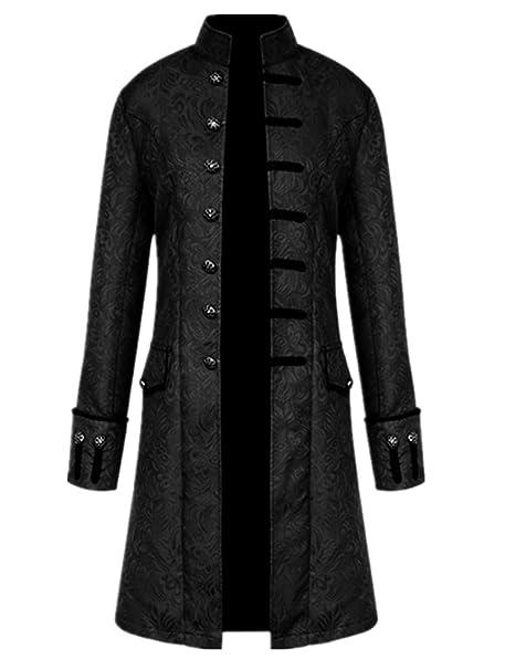 Amazon.com: Crubelon Steampunk Vintage - Chaqueta para ...