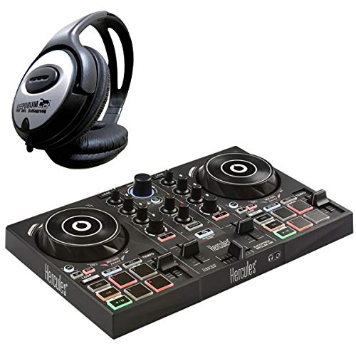 Hercules djcontrol inpulse 200de 2Deck controlador DJ + Auriculares Keepdrum