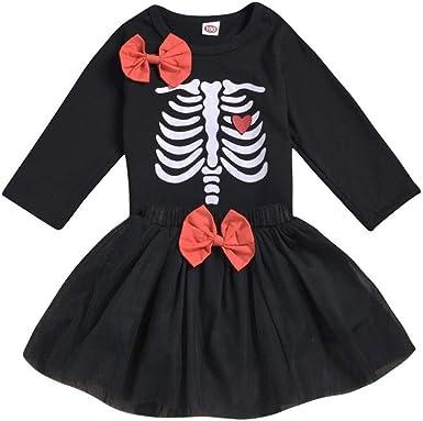 Vestidos Bebe NiñA, Disfraz Halloween Conjuntos para NiñAs ...